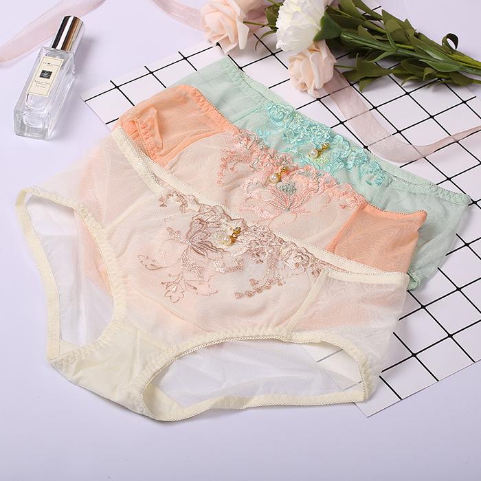 女士内裤l号_351733(59元3条)女士中腰三角内裤